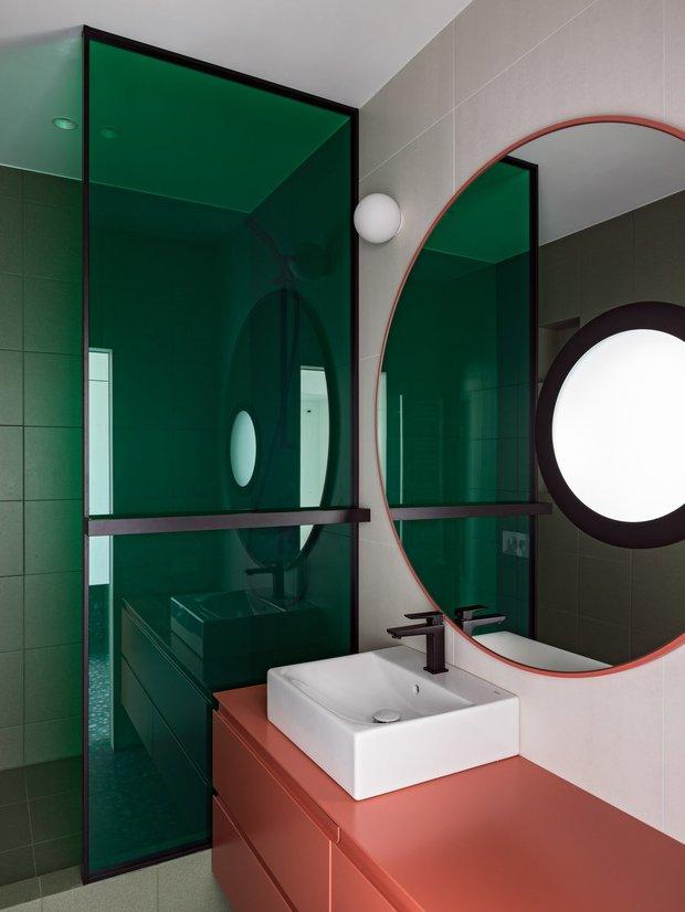 Фотография:  в стиле , Ванная, Гид, маленькие санузлы – фото на INMYROOM