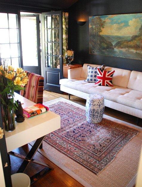 Фотография: Гостиная в стиле Прованс и Кантри, Декор интерьера, Мебель и свет, Советы – фото на INMYROOM