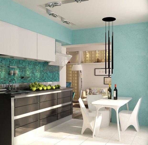 Фотография: Кухня и столовая в стиле Хай-тек, Скандинавский, Минимализм, Проект недели – фото на INMYROOM