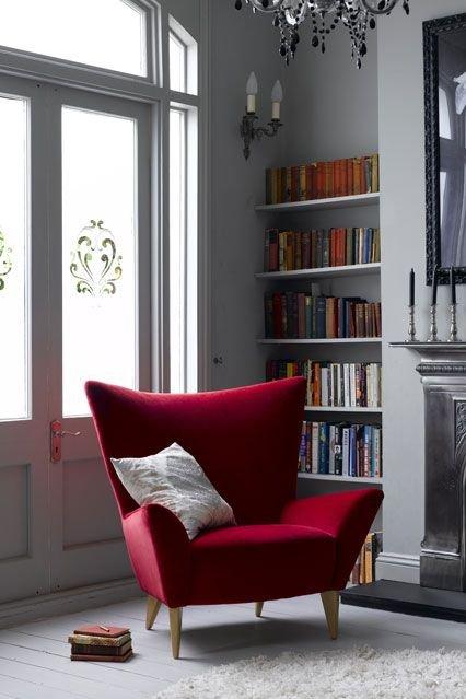 Фотография:  в стиле , Декор интерьера, Интерьер комнат, Декор, Красный, pantone, колористика, колорит – фото на INMYROOM