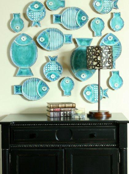 Фотография: Декор в стиле Прованс и Кантри, Декор интерьера, Декор дома, Цвет в интерьере, Обои – фото на INMYROOM