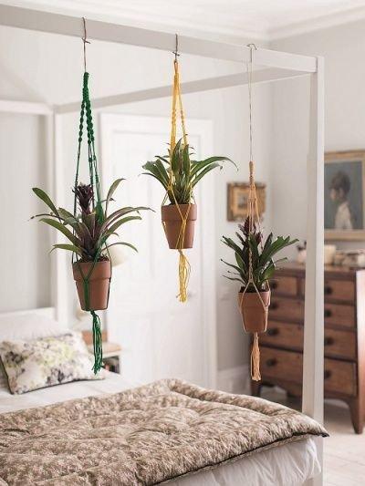 Фотография: Спальня в стиле Прованс и Кантри, Малогабаритная квартира, Квартира, Флористика, Стиль жизни, Зимний сад – фото на INMYROOM