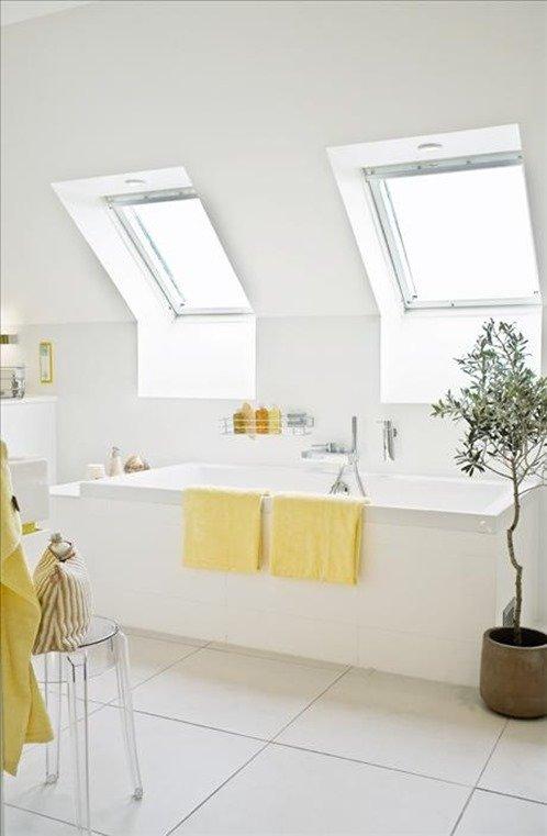 Фотография: Ванная в стиле Современный, Чердак, Мансарда – фото на INMYROOM