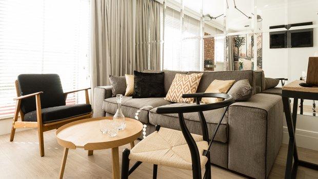 Фотография: Гостиная в стиле Современный, Декор интерьера, Малогабаритная квартира, Польша – фото на INMYROOM