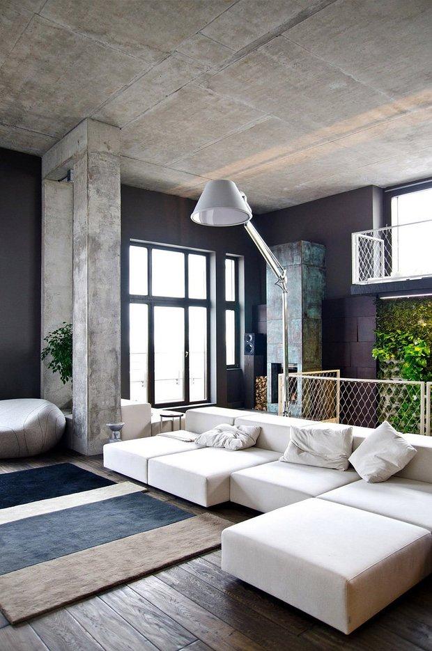 Фотография: Гостиная в стиле Лофт, Современный, Эклектика, Декор интерьера, Декор дома – фото на INMYROOM