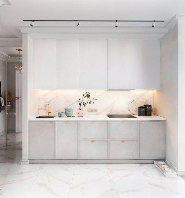 Фотография:  в стиле , Кухня и столовая, Гостиная, Советы – фото на INMYROOM