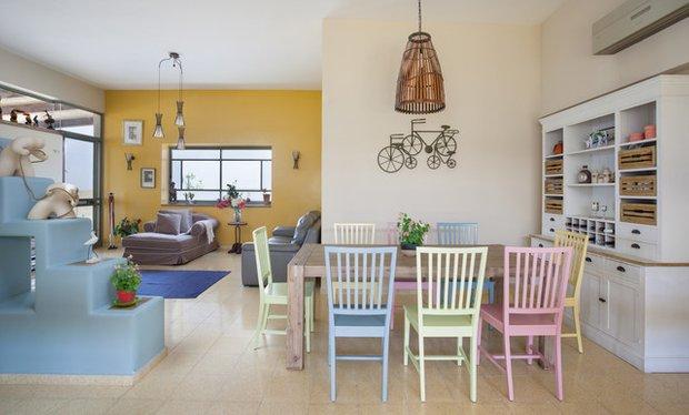 Фотография: Кухня и столовая в стиле Лофт, Скандинавский, Интерьер комнат – фото на INMYROOM