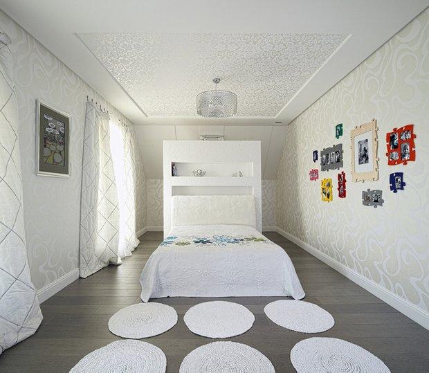 Фотография: Спальня в стиле Современный, Эклектика, Дом, Дома и квартиры, Проект недели – фото на InMyRoom.ru