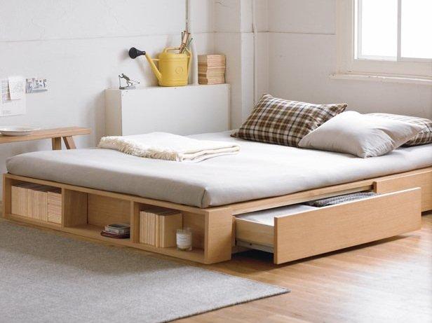Фотография: Спальня в стиле Лофт, Малогабаритная квартира, Дома и квартиры – фото на INMYROOM