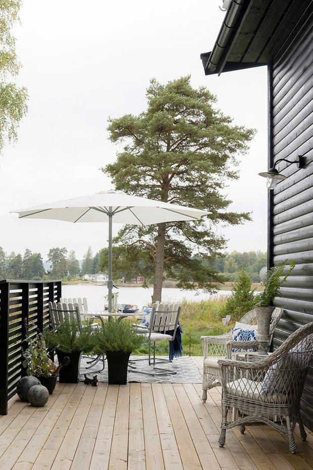 Фотография: Терраса в стиле Скандинавский, Декор интерьера, Дом, Швеция, Дача, Дом и дача – фото на INMYROOM