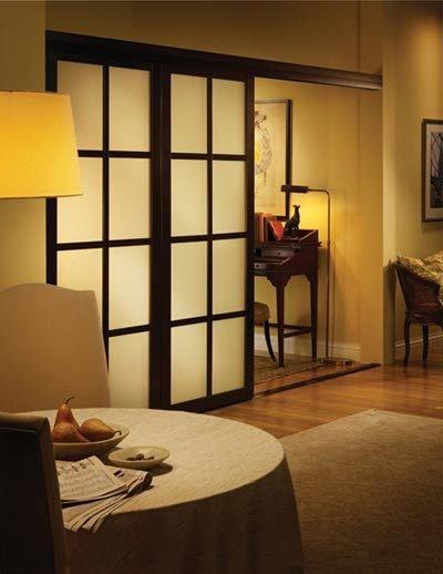 Фотография: Гостиная в стиле Современный, Восточный, Декор интерьера, Декор дома, Ширма, Перегородки – фото на INMYROOM
