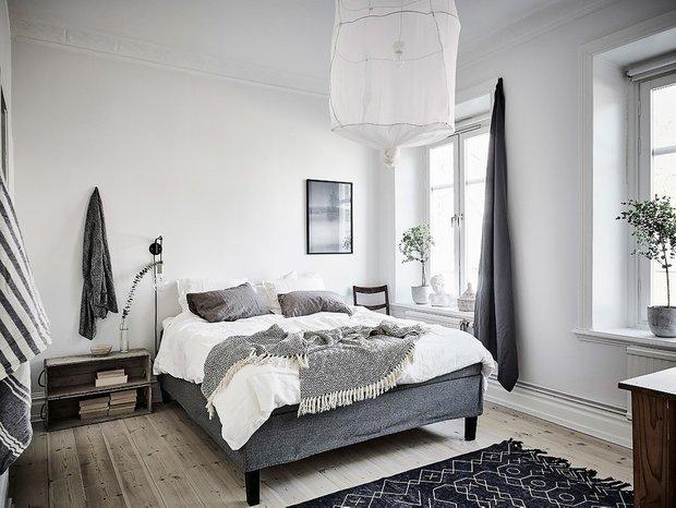 Фотография: Спальня в стиле Скандинавский, Квартира, Советы – фото на INMYROOM