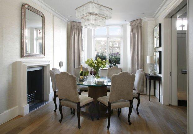 Фотография: Кухня и столовая в стиле Классический, Декор интерьера, Зеленый, Бежевый, Серый, Розовый, Голубой – фото на INMYROOM
