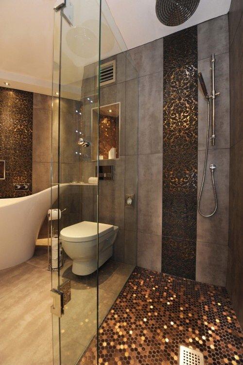 Фотография: Ванная в стиле Лофт, Декор интерьера, Декор дома, Пол – фото на INMYROOM