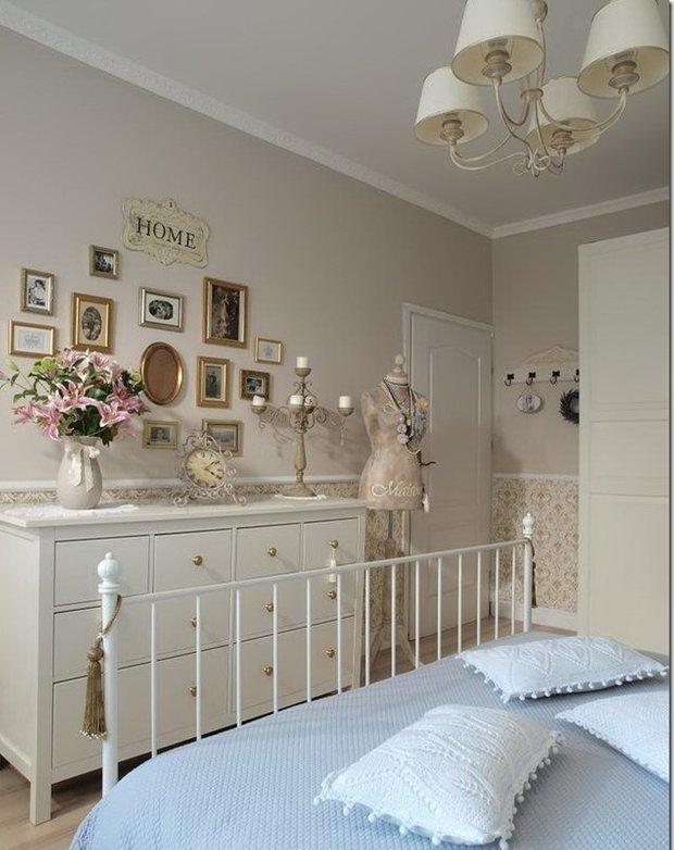 Фотография: Спальня в стиле Классический, Современный, Цвет в интерьере – фото на INMYROOM