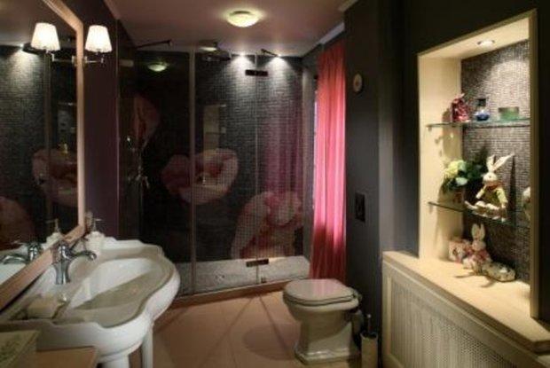 Фотография: Ванная в стиле Прованс и Кантри, Текстиль, Декор – фото на INMYROOM