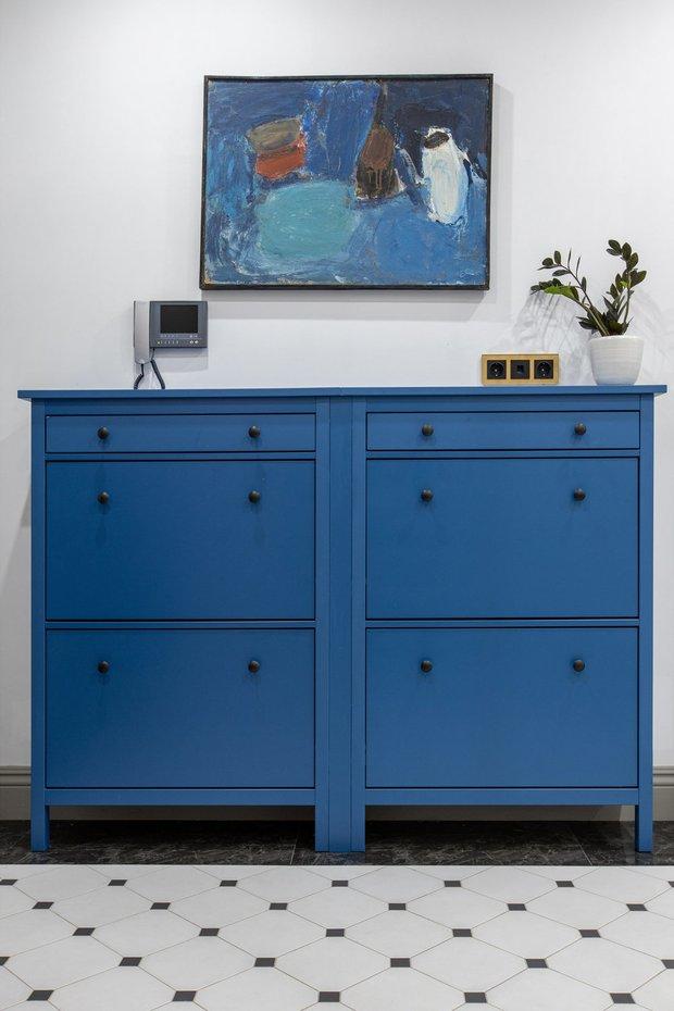 Фотография: Ванная в стиле Современный, DIY, Переделка, ИКЕА, мебель икея, переделка мебели, как покрасить шкаф – фото на INMYROOM