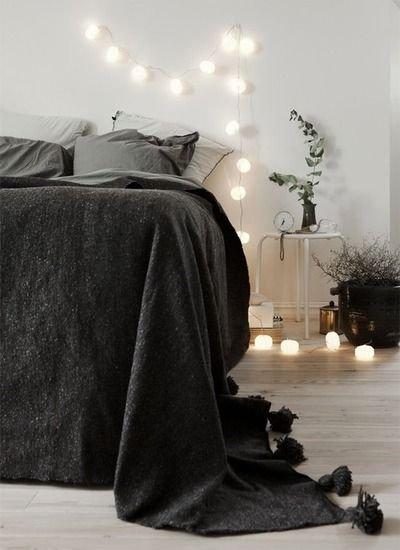 Фотография: Спальня в стиле Скандинавский, Современный, Интерьер комнат, Подушки, Ковер – фото на INMYROOM