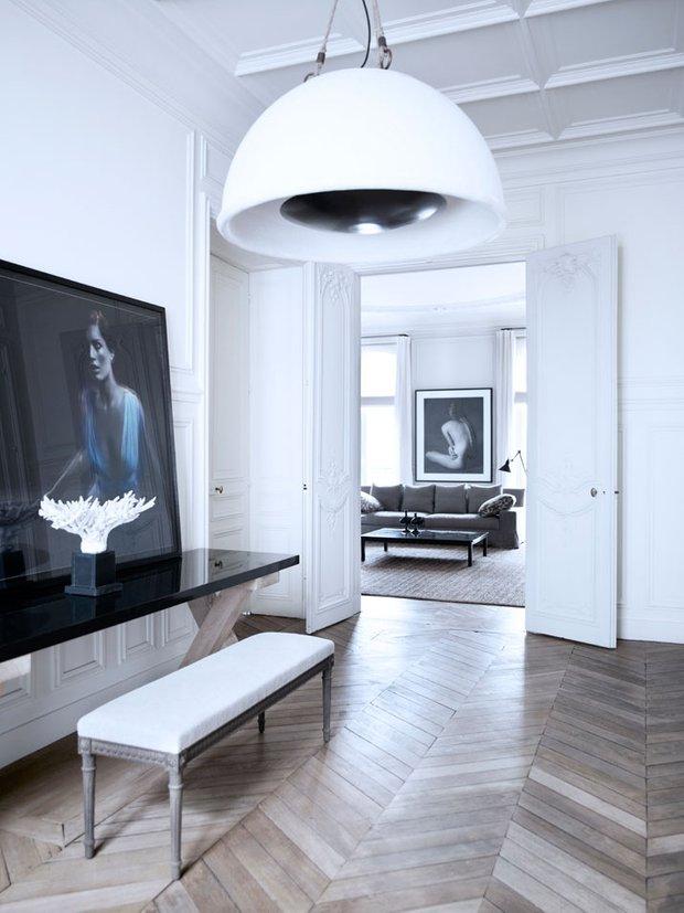 Фотография:  в стиле Классический, Скандинавский, Современный, Квартира, Дома и квартиры, Международная Школа Дизайна – фото на INMYROOM