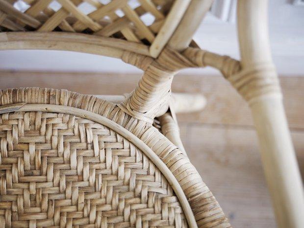 Фотография: Спальня в стиле Современный, Индустрия, Новости, IKEA, Ткани, Кресло, Ваза, Стулья, Постеры, Принты, Плетеная мебель – фото на INMYROOM