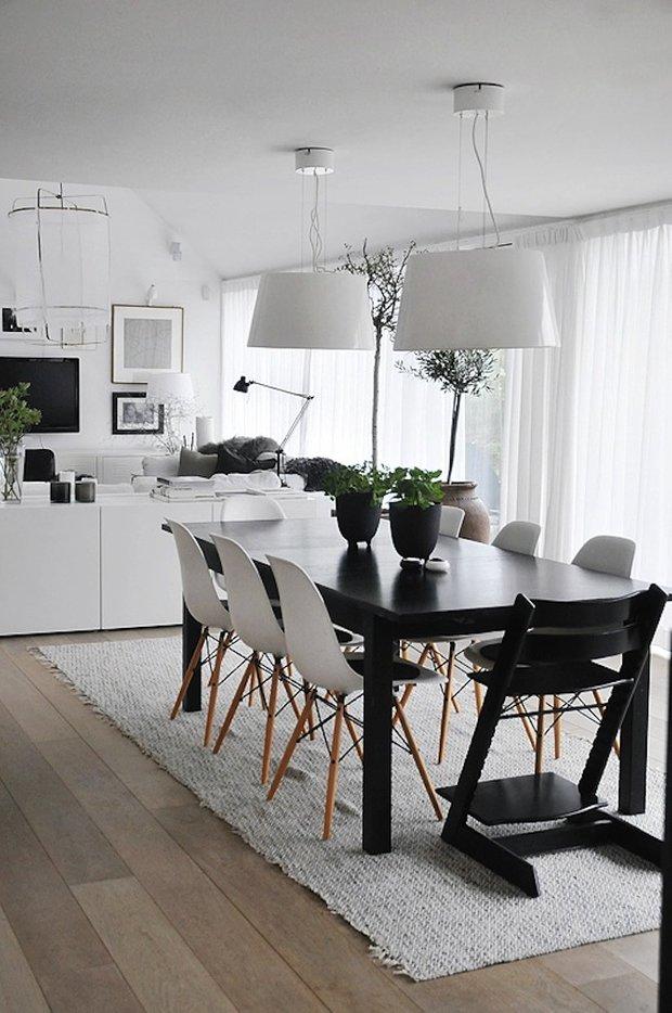 Фотография: Кухня и столовая в стиле Скандинавский, Цвет в интерьере, Стиль жизни, Советы, Белый – фото на INMYROOM