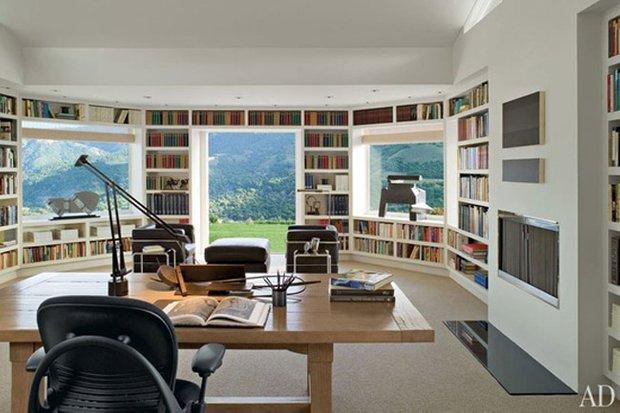 Фотография: Офис в стиле Современный, Системы хранения, Библиотека, Домашняя библиотека – фото на INMYROOM
