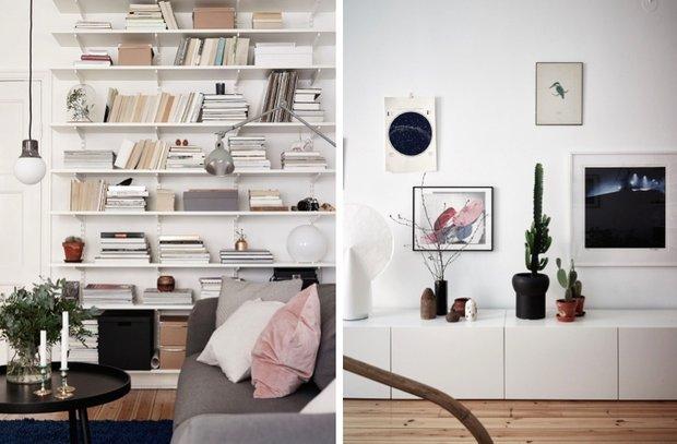 Фотография:  в стиле , Декор интерьера, Малогабаритная квартира, Квартира, Швеция, Стокгольм, дизайн-хаки, идеи для малогабаритки, 2 комнаты – фото на INMYROOM