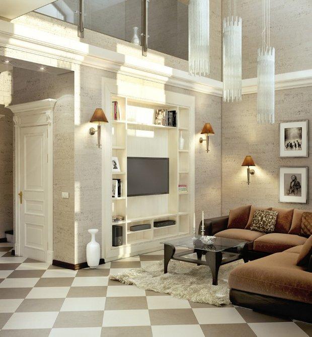 Фотография: Гостиная в стиле Классический, Современный, Декор интерьера, Дом, Дома и квартиры, Проект недели, Неоклассика – фото на INMYROOM