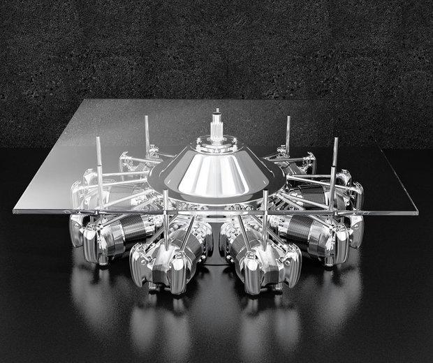 Фотография: Мебель и свет в стиле Современный, Хай-тек, Декор интерьера, Светильник – фото на INMYROOM