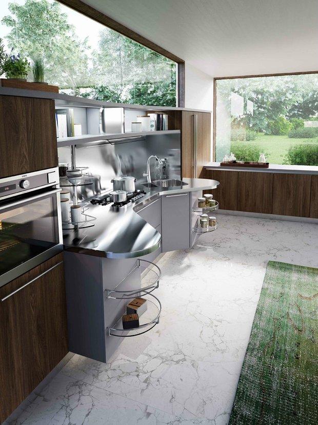 Фотография: Кухня и столовая в стиле , Интерьер комнат – фото на INMYROOM