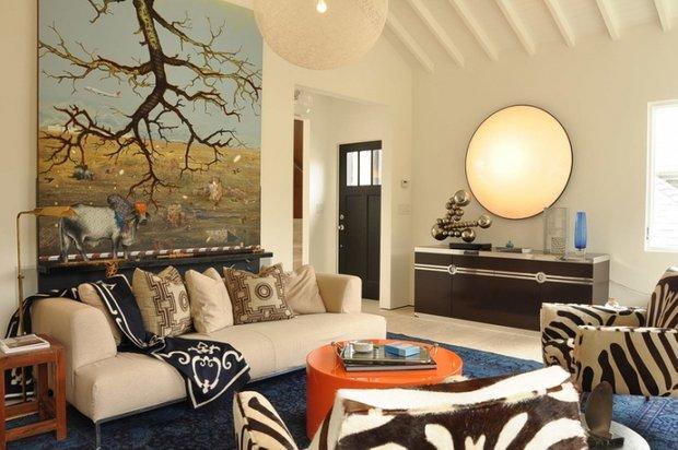 Фотография: Гостиная в стиле , Декор интерьера, Декор дома, Картины, Поп-арт – фото на INMYROOM