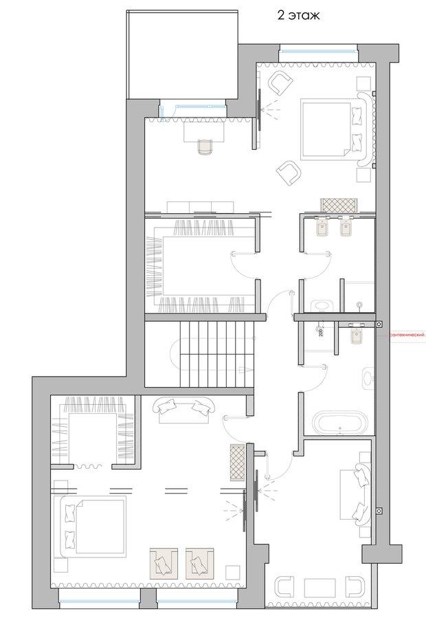 Фотография: Прочее в стиле , Спальня, Классический, Квартира, Интерьер комнат, Декор, Проект недели, Неоклассика – фото на INMYROOM
