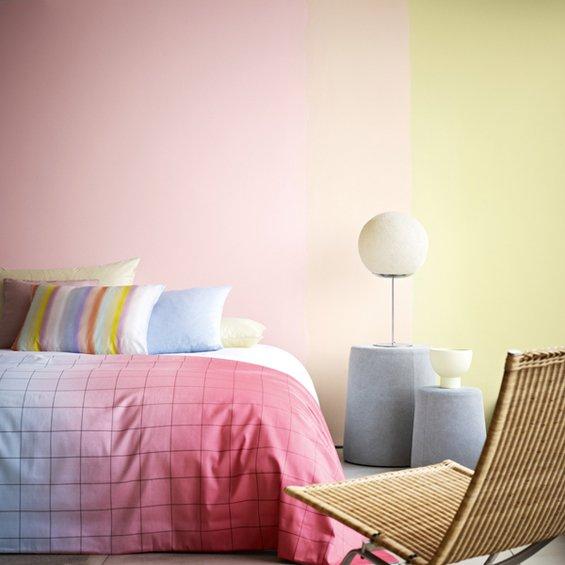 Фотография: Спальня в стиле Минимализм, Декор интерьера, Дизайн интерьера, Цвет в интерьере, Dulux, ColourFutures, Akzonobel, Краски – фото на INMYROOM