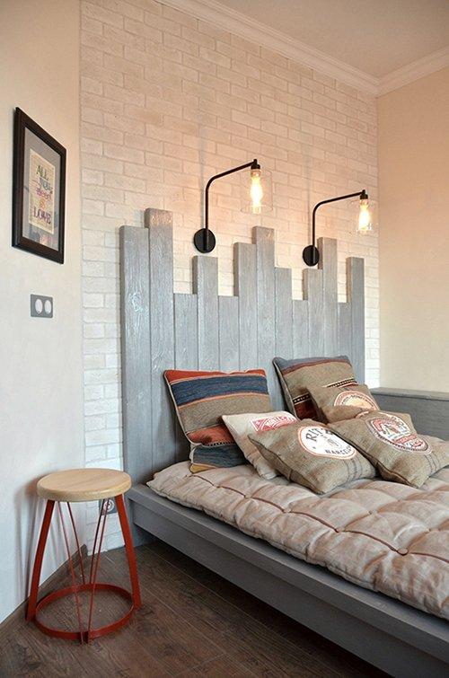 Фотография: Спальня в стиле , Лофт, Квартира, Дома и квартиры, Системы хранения, Индустриальный, Женя Жданова – фото на INMYROOM