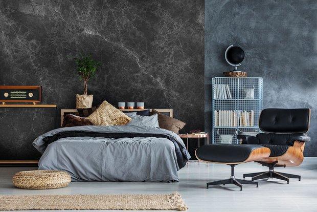 Фотография: Спальня в стиле Лофт, Декор интерьера, Гид, «Экспострой на Нахимовском», ваби-саби – фото на INMYROOM