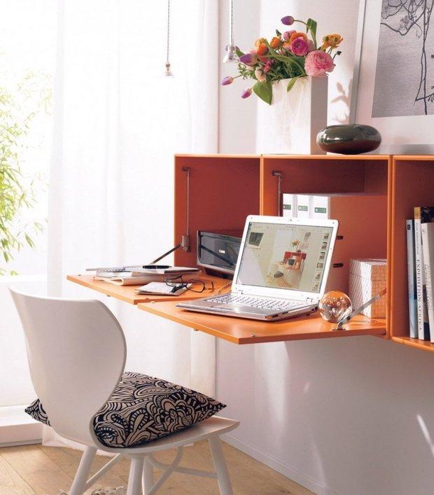 Фотография: Офис в стиле Современный, Декор интерьера, Малогабаритная квартира, Квартира, Дома и квартиры, Советы, Зеркало – фото на INMYROOM