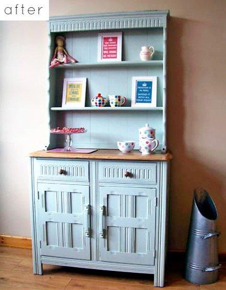 Фотография: Спальня в стиле Лофт, Кухня и столовая, Декор интерьера, DIY, Мебель и свет, Переделка, Кресло, Диван, Люстра, Комод, Зеркало, Стул, Холодильник, идеи переделки старой мебели, переделка старой мебели фото – фото на INMYROOM
