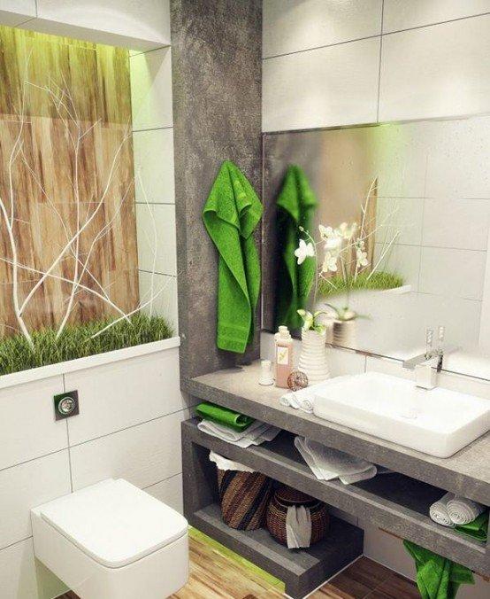 Фотография: Ванная в стиле Лофт, Современный, Интерьер комнат – фото на INMYROOM