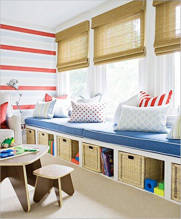 Фотография: Детская в стиле Прованс и Кантри, Современный, Интерьер комнат, Системы хранения – фото на INMYROOM