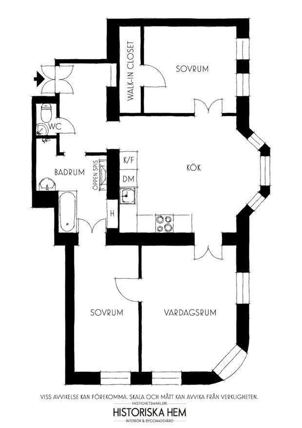 Фотография:  в стиле , Классический, Скандинавский, Эклектика, Декор интерьера, Квартира, Швеция, Стокгольм, как оформить эклектичный интерьер, эклектика в нитерьере, 4 и больше, Более 90 метров – фото на INMYROOM
