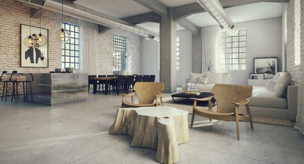 Фотография:  в стиле , Лофт, Малогабаритная квартира, Советы, как оформить интерьер в стиле лофт, декор в лофте, отделка в лофте, цветовое оформление в лофте – фото на INMYROOM