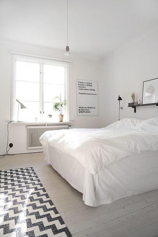 Фотография: Спальня в стиле Скандинавский, Интерьер комнат, Хрущевка – фото на INMYROOM