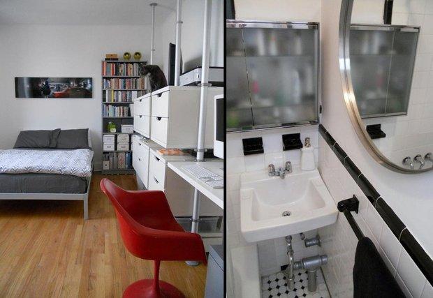 Фотография: Прочее в стиле , Малогабаритная квартира, Квартира, Дома и квартиры, IKEA – фото на INMYROOM