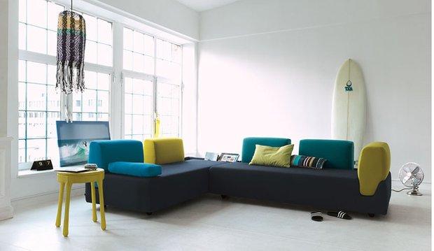 Фотография: Гостиная в стиле Минимализм, Декор интерьера, Дизайн интерьера, Цвет в интерьере – фото на INMYROOM