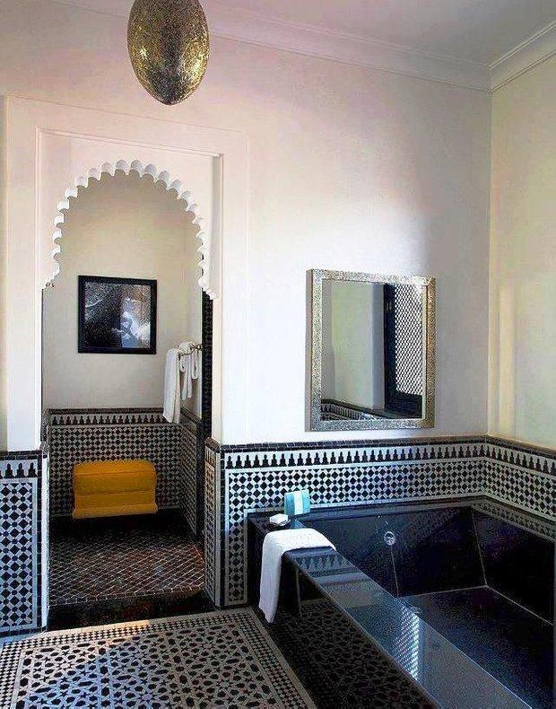 Фотография: Ванная в стиле Восточный, Декор интерьера, Декор дома, Марокканский – фото на INMYROOM