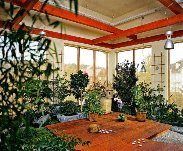 Фотография: Флористика в стиле Восточный, Балкон, Дом, Дома и квартиры – фото на INMYROOM