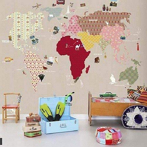 Фотография: Детская в стиле , Декор интерьера, DIY, Обои – фото на INMYROOM