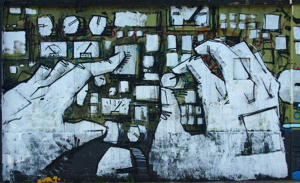 Фотография: Прочее в стиле , Германия, Дома и квартиры, Городские места, Маркет, Роспись, Граффити, Стрит-арт – фото на InMyRoom.ru