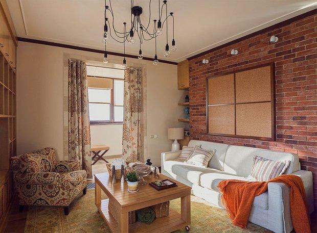 Фотография: Гостиная в стиле Лофт, Декор интерьера, Квартира, Дома и квартиры, Илья Хомяков, Стена – фото на INMYROOM