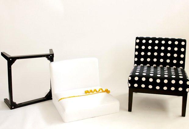 Фотография:  в стиле , DIY, Кресло, Bosch, как сменить обивку мягкой мебели, zamo, как сменить обивку кресла – фото на INMYROOM